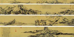 《富春山居图》代表黄公望一生绘画的最高成就