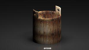 3dmax制作木桶实例